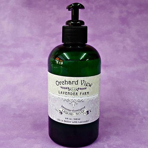 Lavender Eucalyptus Liquid Soap