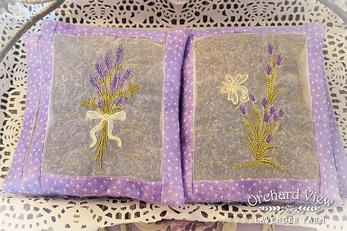Handmade Cotton Lavender Sachet
