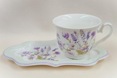 Item #212843 Tea Cup & Plate