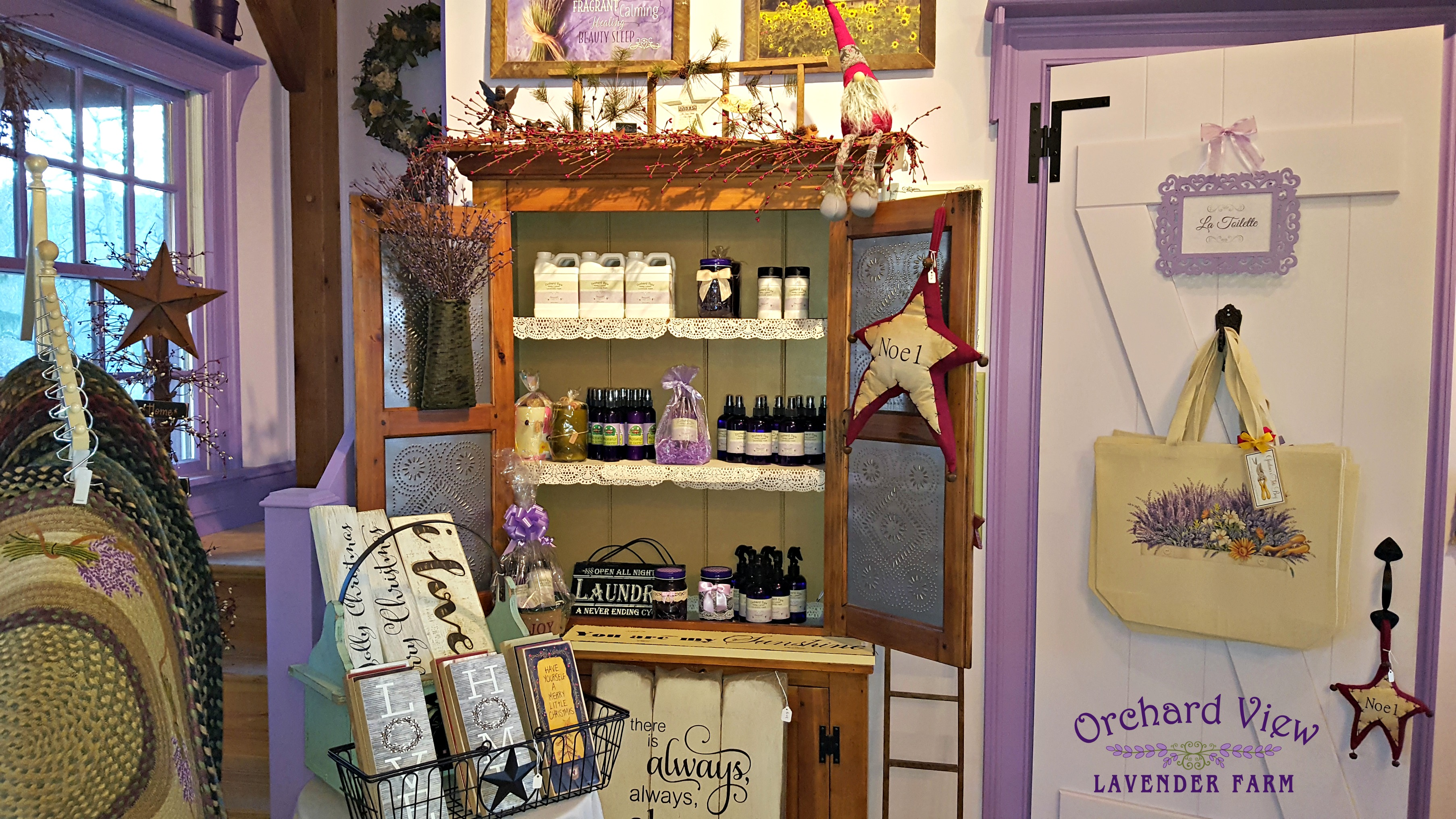 The Lavender Farm Stand