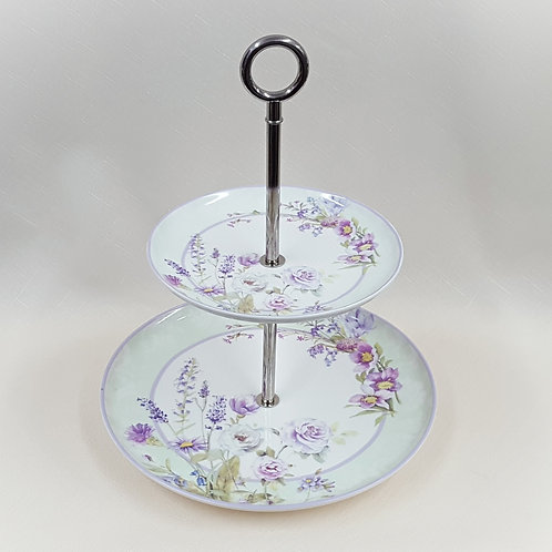 Item #212850 2 Tier Pastry Stand