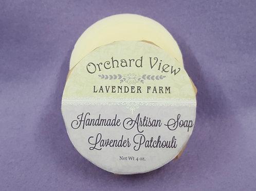Handmade Artisan Lavender Patchouli Soap