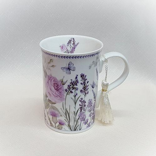 Item #208761 Lavender Mug w/Tassel