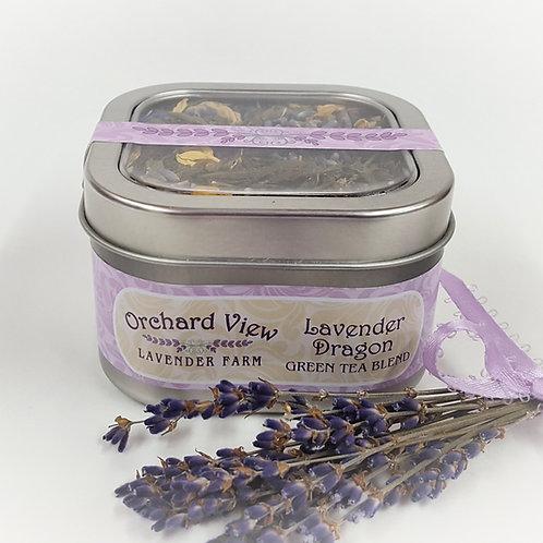 Lavender Dragon Green Tea Blend