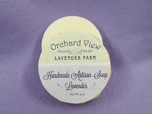 Handmade Artisan Lavender Soap