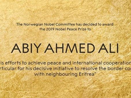 Abiy Ahmed Ali - Nobel Peace Prize 2019