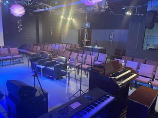 Inside Worship Space