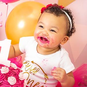 Amahle's Cake Smash!