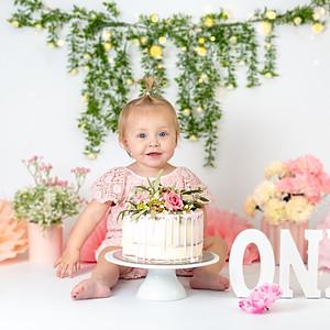 Aria's Cake Smash!