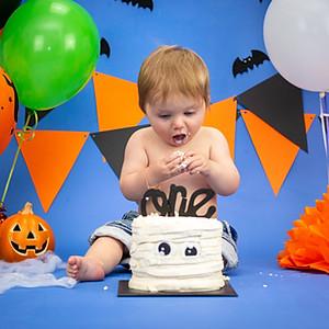 Zaine's Cake Smash!