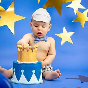 Lucas's Cake Smash!