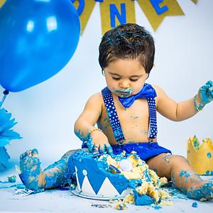 Isaac's Cake Smash!
