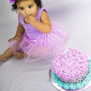 Lavanya's Cake Smash!