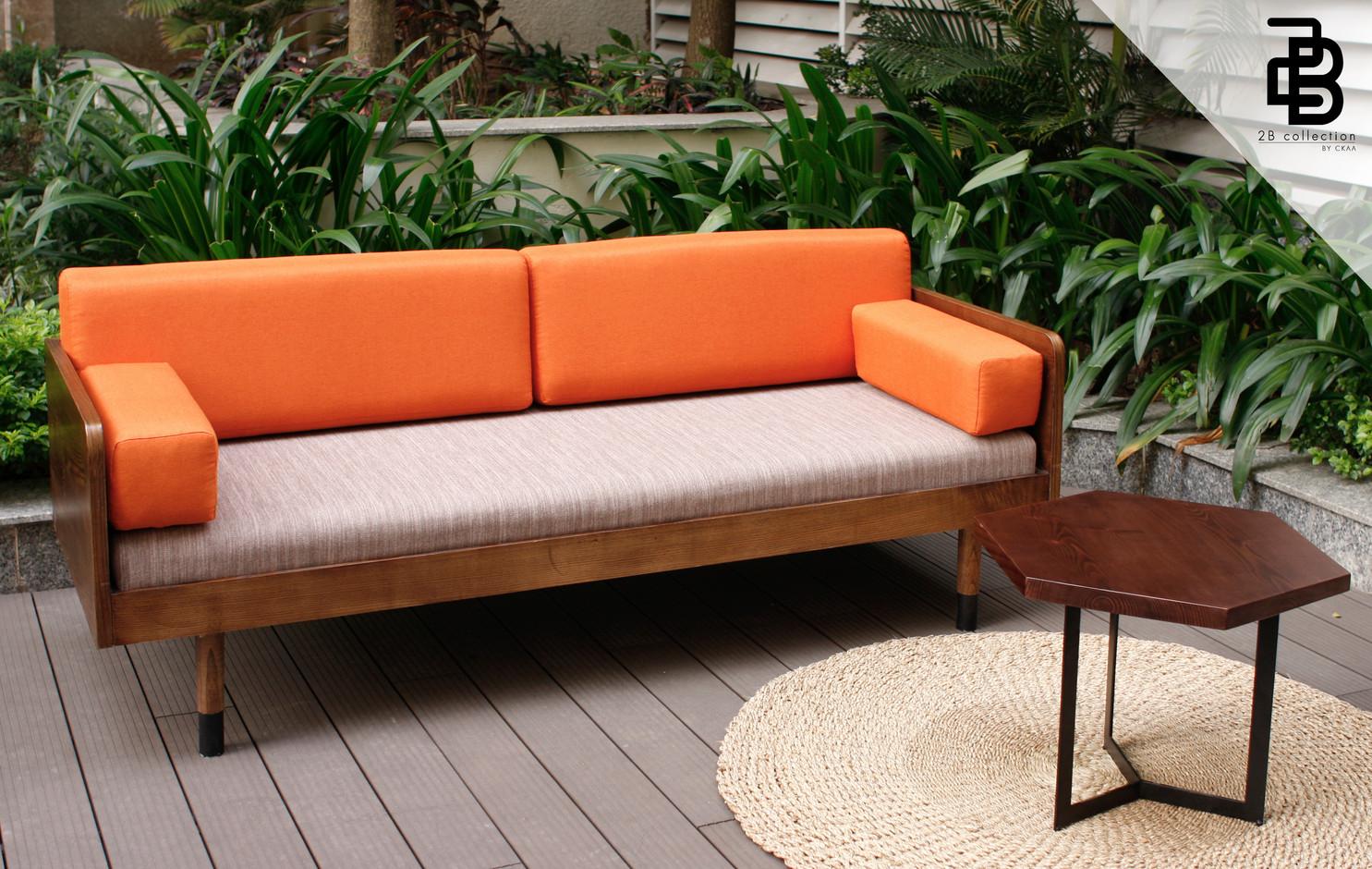 Vintage U sofa