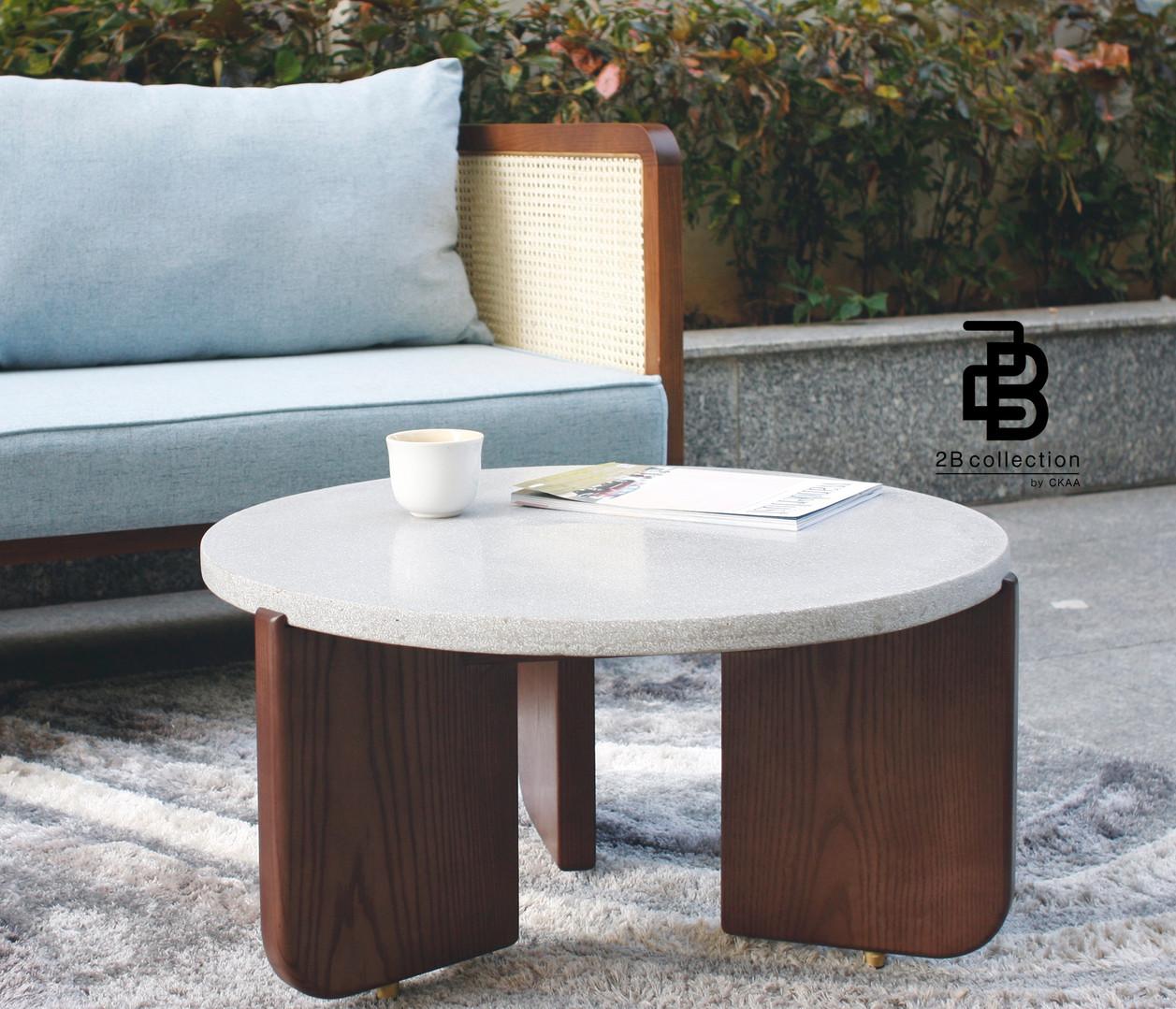 Wood Terrazzo coffee table
