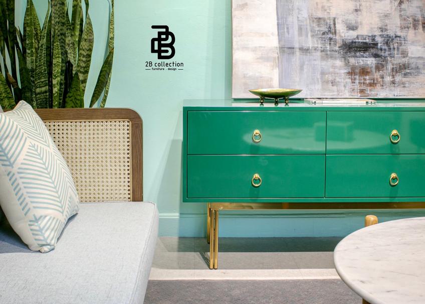 Rattan & Lacquered furniture