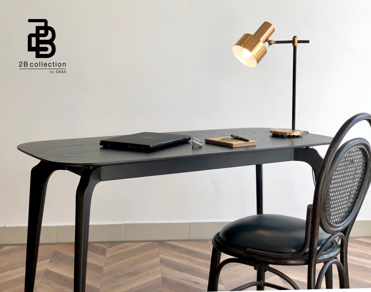 Black Ash Wood Table