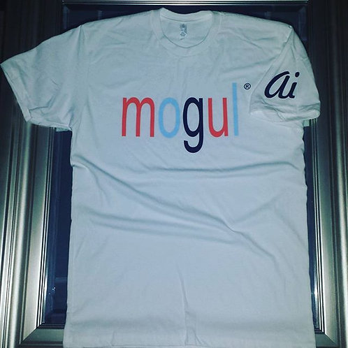 Lower Case MOGUL Multi-Colored tee
