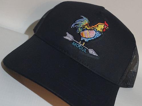 The Yard King Trucker hat Black/Black