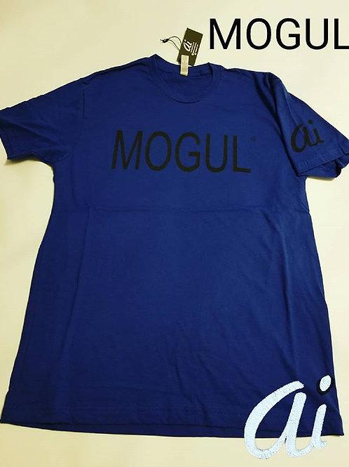 MOGUL BLUE tee