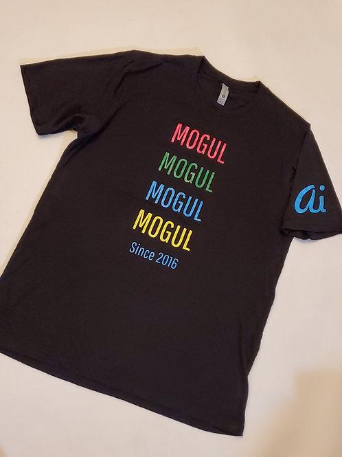 The MOGUL Brand 5 Year anniversary tee