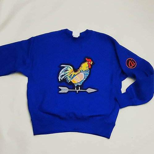 The Yard King Heavyweight Crewneck Sweatshirt