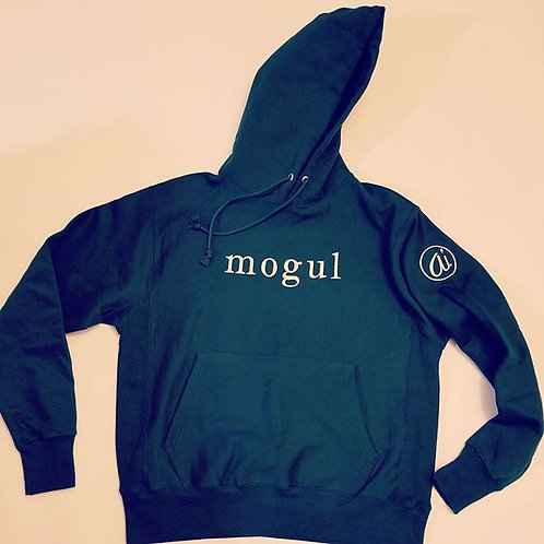SuperHeavyweight Forest Green MOGUL hoodie