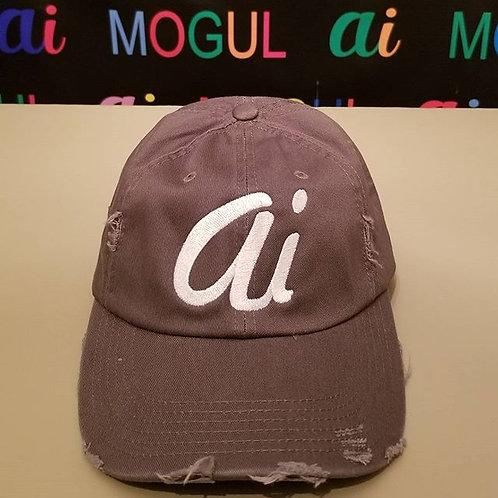 "Alexander Inc ""Ai"" hat Grey/white letters"