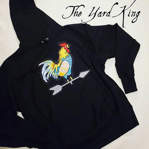 The Yard King Hoodie in black