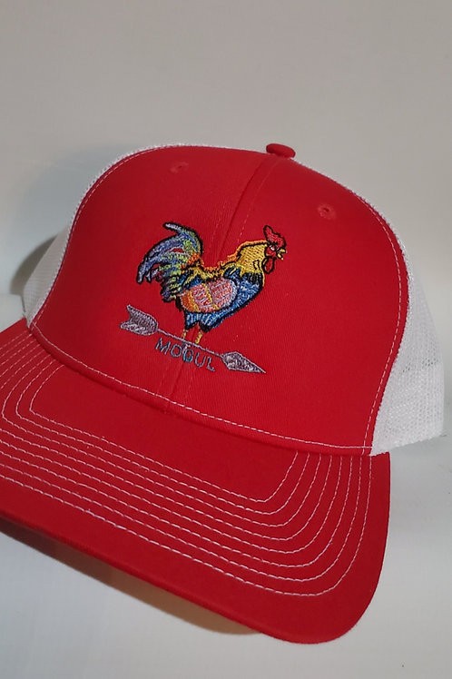 The Yard King Trucker hat Red/White