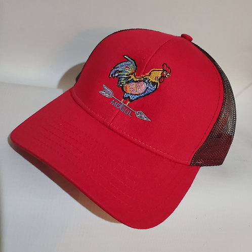 The Yard King Trucker hat Red/Black