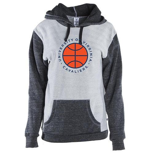 NCAA Virginia Cavaliers Basketball MM19VA1 Mens/ Womens Color Block Hoodie