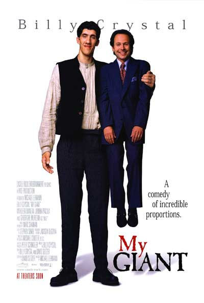 My Giant Poster. Gheorghe Muresan and Billy Crystal.