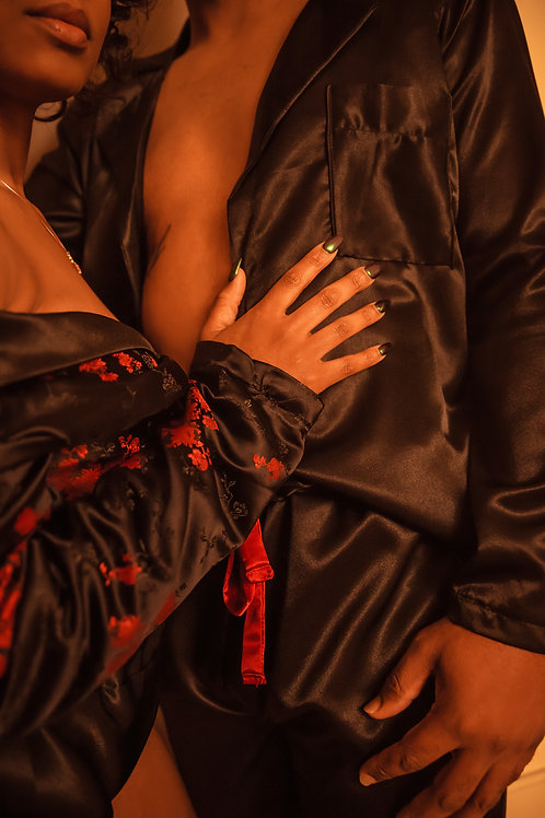 His or Hers Satin Shirt