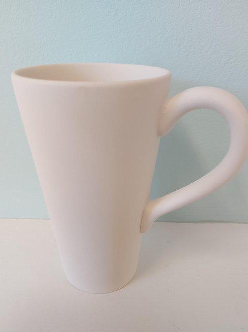 Tall cone flare mug