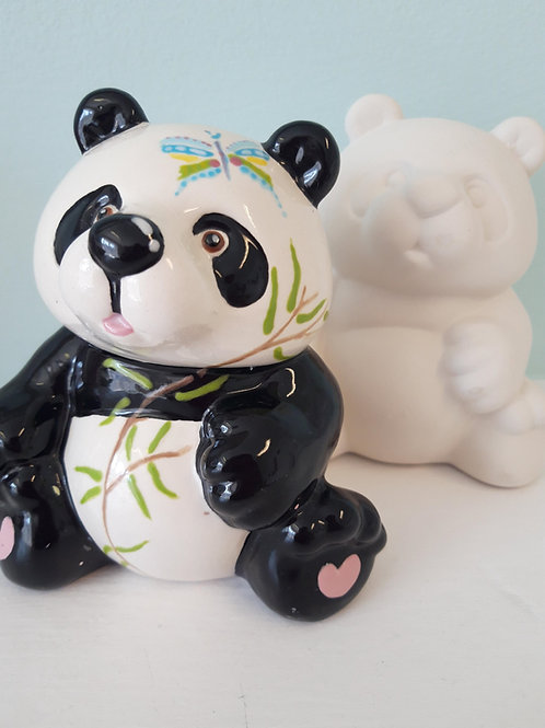 Panda party figurine