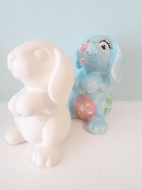 Rabbit party figurine