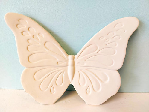 Butterfly garden plaque