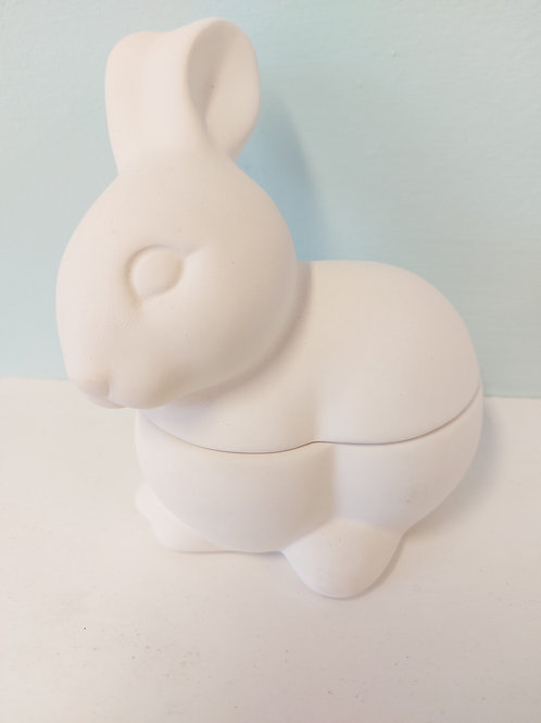 rabbit trinket box