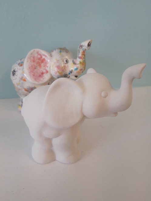 Elephant party figurine
