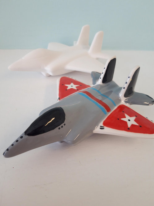 plane party figurine