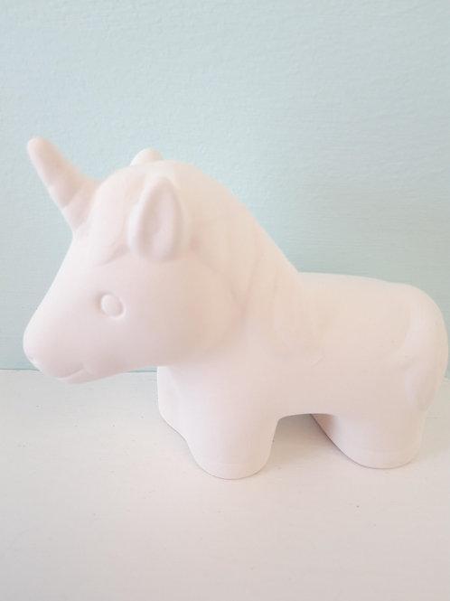 Unicorn party figurine