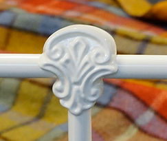 Sussex panel cast. Empire Beds. Australian Made. Cast Bed. Cast Iron Bed.Wrought Iron Bed.