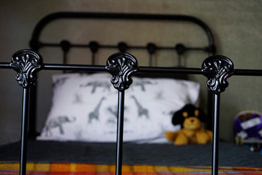 Dover Cast Iron Bed