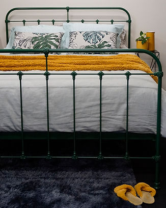 Hampshire Cast Bed. Empire Beds. Australian Made. Cast Iron Beds. Wrought Iron Beds.