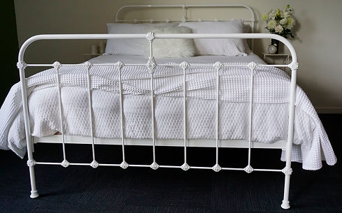 Australian Made Beds. Empire Beds. Cast Beds. Cast Iron Bed. Authentic and Traditional Beds. Vintage Beds made in Melbourne. Cambridge Scout Cast Bed.