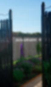 Wrought Iron Garden