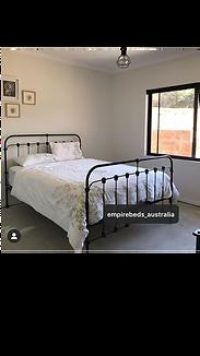 Empire Beds. Australian Made Beds. Chelsea Cast Bed. Cast Iron Beds. Wrough Iron Beds.