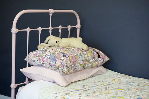 Empire Beds. Australian Made Children's Bed. Hampshire Cast Iron Bed. Cast Iron Bed. Wrought Iron Bed. Kids beds. Dusky Pink colour from the Oxytech range. Empire Beds. Australian Made Bed. Surrey Cast Iron Bed. Cast Iron Bed. Wrought Iron Bed. Cast Iron beds reproduction. Cast Iron Bed Frame.