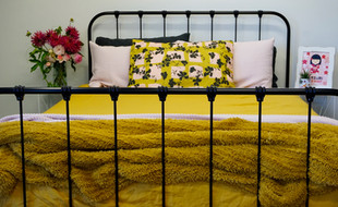 Cornwall Cast Iron Bed
